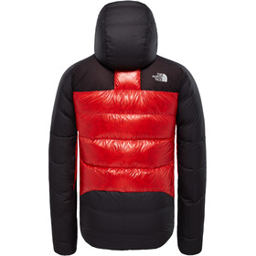 The North Face M's Summit L6 Down Belay Parka Fiery Red/Tnf Black